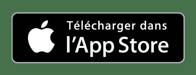 Application Hublo pressing Apple Store