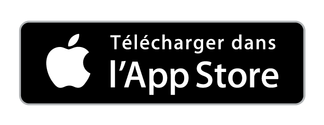 Badge App Store pressing Hublo