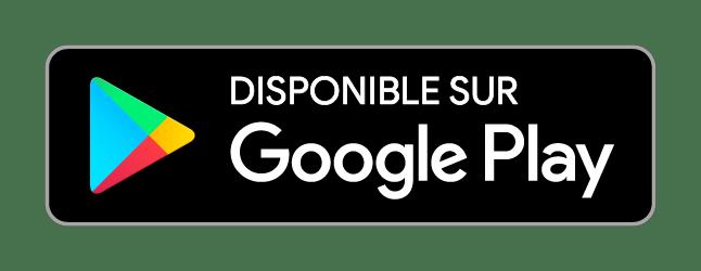 Badge Google Store pressing Hublo
