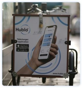 Vélo électrique triporteur Hublo