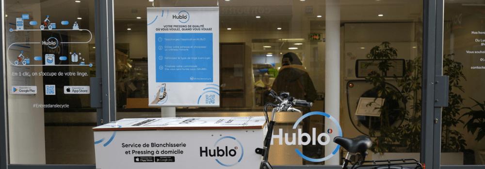 devanture pressing Hublo